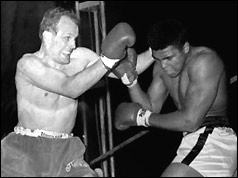 Henry Cooper boxing Cassius Clay - 21 May 1966