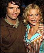 Melinda Messenger and husband Wayne