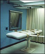 An execution chamber in Texas