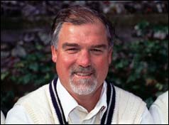 Mike Gatting - England Capt.