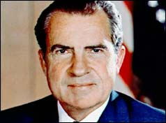 US President - Richard Nixon