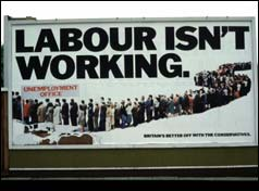 Tory election campaign poster, 1979