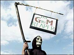 An anti-GM campaigner