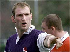 Lawrence Dallaglio - England Captain