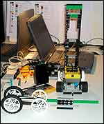 Programmable lego and laptops