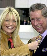 Gabby Roslin and Prince Charles
