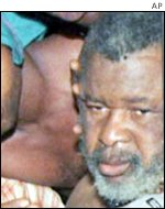 Former rebel leader Foday Sankoh