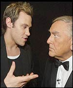 Will Young and Bob Monkhouse