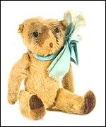 Edwin, a British 'soldier' teddy bear
