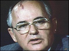 Head shot of Gorbachev