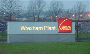 Owens Corning in Wrexham