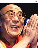 The Dalai Lama, spiritual leader of Tibet