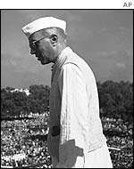 Jawaharlal Nehru, first prime minister of independent India
