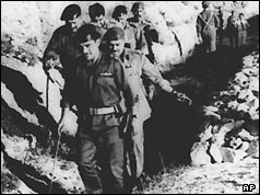 King Hussein of Jordan inspecting his troops on the border with Israel - 29 May 1967
