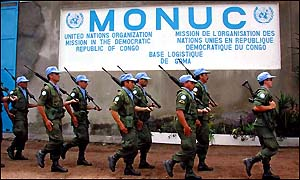 Monuc forces in DR Congo