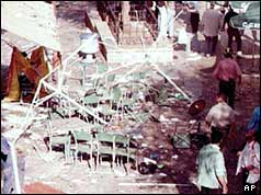 Ben Yehuda Walkway after the attacks