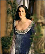 Liv Tyler in The Two Towers