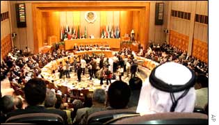 Arab Foreign ministers meeting in Cairo