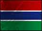 Image of the Gambian flag