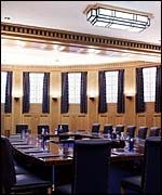 Broadcasting House's boardroom