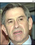 US Deputy Defence Secretary Paul Wolfowitz