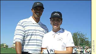 Tiger and Annika: Golf's king and queen