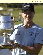 LPGA Tour golfer of the year Annika Sorenstam