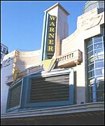 The Warner Village cinema in Leicester Square, central London