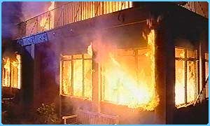 The school burnt down in the last series of Grange Hill