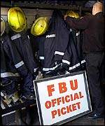 FBU picket