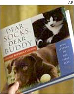 Book of letters written to the Clintons' presidential pets