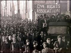 Civil rights marchers