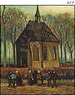 Congregation Leaving the Reformed Church at Nuenen