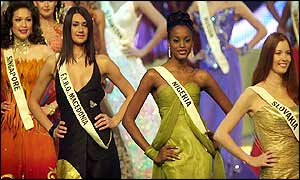 Miss World pageant in London