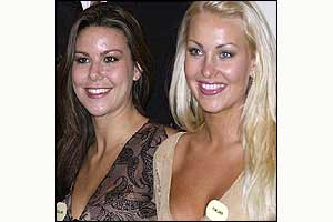 Miss England and Miss Finland