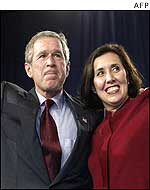 George W Bush and Suzanne Haik Terrell