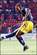 Jefferson Louis in action for Oxford earlier this season