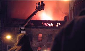 Firefighters in action (Pic: John McLaggan)