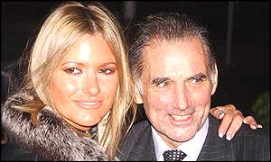 Alex Best with husband George