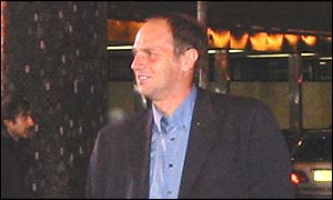 Sir Steve Redgrave arrives at the BBC