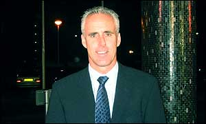 Mick McCarthy arrives at TV Centre