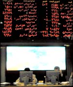 Prices at the Tehran Stock Exchange