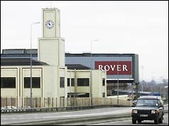 Photo of Rover's Cowley plant in Oxford