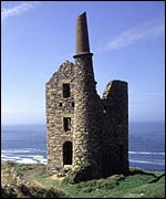 Disused mine at Botallack