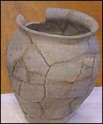 Roman urn (found in Carmarthenshire)