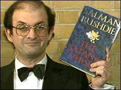 Salman Rushdie and his book The Satanic Verses