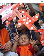 BJP rally in Ahmedabad, 6 December