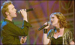 Ronan Keating and Sinead Quinn