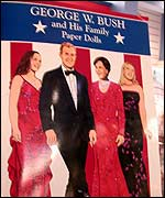 George W Bush paper doll collection