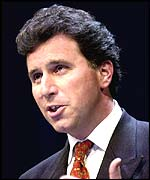 Shadow home secretary Oliver Letwin